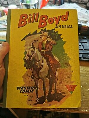 £5 • Buy Bill Boyd Annual 1960 Western Comic L. Miller And Co