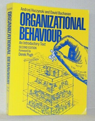 £4.49 • Buy Organizational Behaviour - An Introductory Text - Foreword By D.Pugh