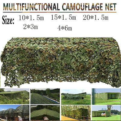 £8.99 • Buy Camouflage Netting Camo Net Cover Hunting Shooting Camping Army Truck Hide-Cover