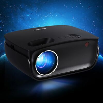 AU117.95 • Buy Home Theater Mini Video Projector Wifi USB Portable Built In Heavy Bass Speaker
