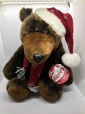 £18 • Buy Tesco Chilly And Friends Bertie Bear Brown Bear Christmas Soft Toy 16  Tall