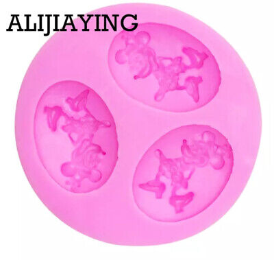 £4.90 • Buy Cartoon Minnie Mouse Silicone Cake Mould , Cake Decorating Tools. Baking