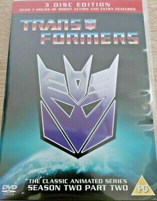 £9.99 • Buy Transformers The Classic Animated Series Season Two Part Two DVD Set