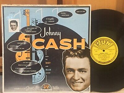 £36.35 • Buy Johnny Cash With His Hot And Blue Guitar VG+ SUN ORIG MONO DG Rockabilly Outlaw