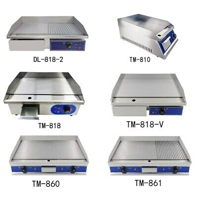 £205 • Buy Commercial Electric Griddle Kitchen Hot Plate Countertop Plancha BBQ Grill Bacon