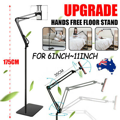 AU33.99 • Buy Adjustable Hands Free Floor Stand Bed Clip Holder For Tablet IPad IPhone Switch