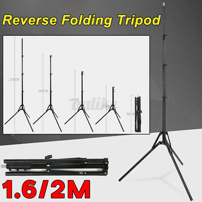 AU26.29 • Buy 2M Adjustable Camera Tripod Stand Phone Holder Mount For IPhone Universal Video