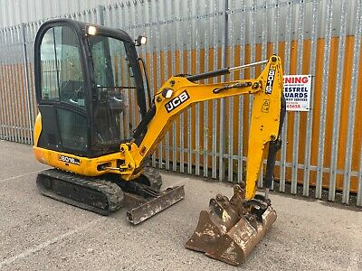 £11995 • Buy JCB 8016 Mini Digger Excavator 2014 Cabbed Comes With Buckets