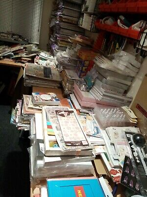 £24.99 • Buy Craft Bundle Job Lot Clearance - 50 Lucky Dip Items - Card/ Paper Crafts *NEW*