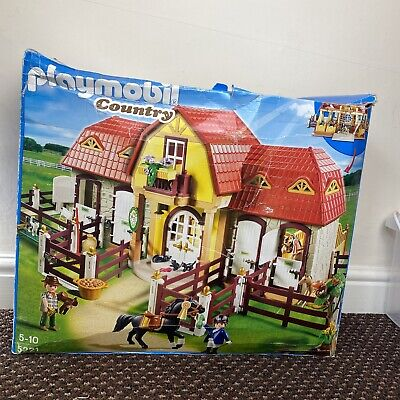 £69.99 • Buy Playmobil Country 5221 - Large Horse Farm With Paddock - New With Damaged Box.