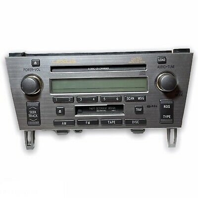 $114.99 • Buy Lexus SC430 Radio Cassette Player With Aux Bluetooth Adapters - AS IS UNTESTED