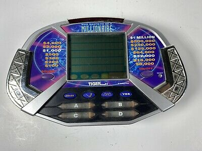 £8.35 • Buy Who Wants To Be A Millionaire- Electronic Handheld- 2000 Tiger With Cartridge