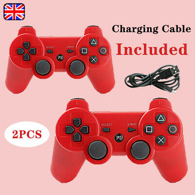 £13.88 • Buy 2Pcs Wireless Bluetooth Controller Handle Gamepad For PS3 PlayStation3 Quality