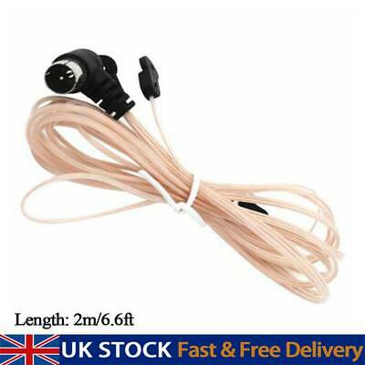 £4.83 • Buy FM Antenna 75 Ohm F Type Male Plug Home Radio Stereo Signal Receiver Aerial UK