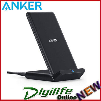 AU42 • Buy Anker 10W Fast Wireless Charging Stand Charger, Qi-Certified PowerWave No AC Ada