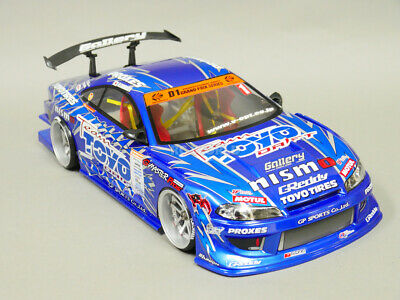 £61.22 • Buy 1/10 RC Car BODY Shell NISSAN SKYLINE S15 Silvia 200mm *FINISHED* BLUE