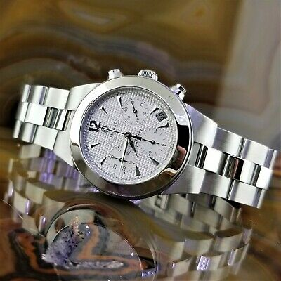 $1595 • Buy Mens CONCORD Mariner Automatic Chronograph Stainless Steel Watch 14 H7 1891