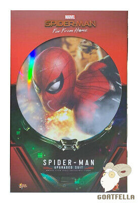 $ CDN319.74 • Buy Ready New Authentic Hot Toys Spiderman Far From Home Upgraded Suit Mms542 1/6