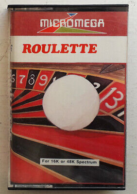 £5.99 • Buy ROULETTE By Micromega For Sinclair ZX Spectrum.
