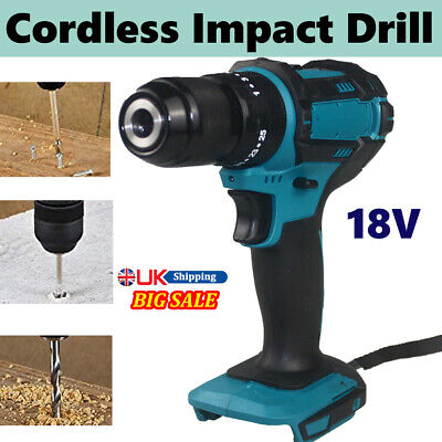£34.70 • Buy For Makita Replacement 18V Cordless Body Only Brushless Impact Hammer Drill New