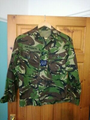£9.99 • Buy British Army Air Cadets Camouflage Camo Shirt Uniform Size Medium 21  Pit To Pit