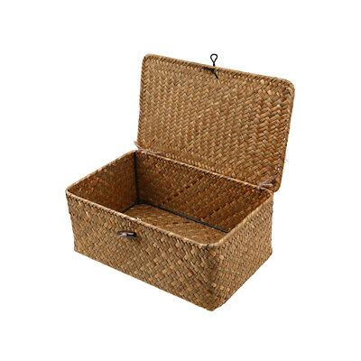 £15.59 • Buy Large Wicker Storage Collection Display Christmas Gift Hamper Basket With Lid UK