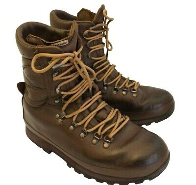 $55.56 • Buy Altberg Defender Combat High Liability Brown Leather 9M Military British Army