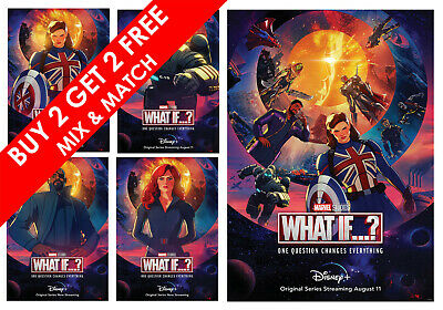 £4.29 • Buy What If...? MARVEL TV Series Posters Film Art Print Gift Idea