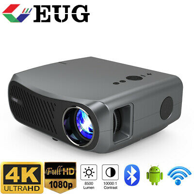 £454.80 • Buy 10000:1 5G WiFi Projector Native 1080p Home Cinema System Big Screen TV Game UK