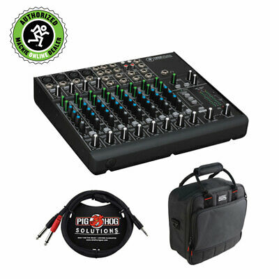 $329.99 • Buy Mackie 1202VLZ4 12-Channel Compact Mixer W/ Mixer Bag And Stereo Cable 10ft