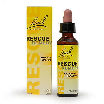 £5.99 • Buy Bach Rescue Remedy Drops 20ml For Stress Anxiety Relief Comfort Exp 2026 Vegan