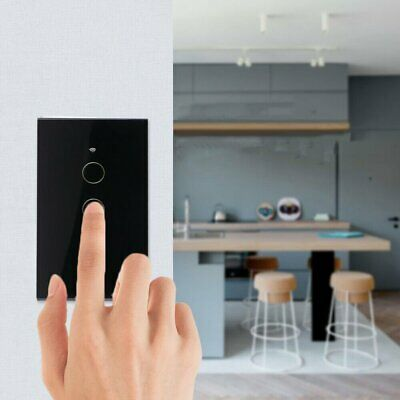 AU24.36 • Buy Smart WIFI Light Touch Panel Switch 1/2/3/4Gang Switch For Alexa&Google Home AU