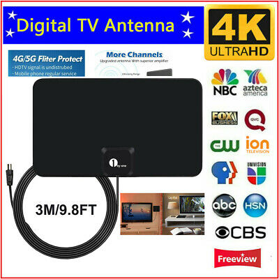 £9.97 • Buy Best 1byone Paper Thin Indoor HDTV Aerial Digital Freeview Antenna TV Signals