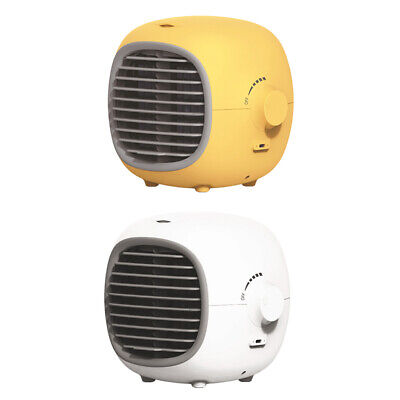 AU62.38 • Buy Mini Air Conditioner USB Personal Unit Cooling Fan Quiet Space Humidifier