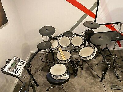 AU3194.19 • Buy Roland TD 20 Electronic Drum Set W/ TONS Of Extras!
