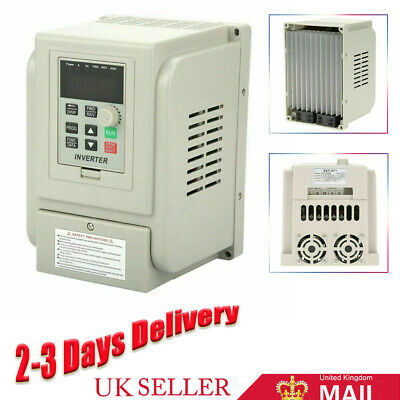 £61.99 • Buy 2.2KW AC Single To 3 Phase VFD Variable Frequency Drive Inverter Speed Converter