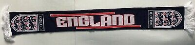 £11.99 • Buy England Original 2000s Official 61  Thick Tassle Double-Sided Football Scarf New