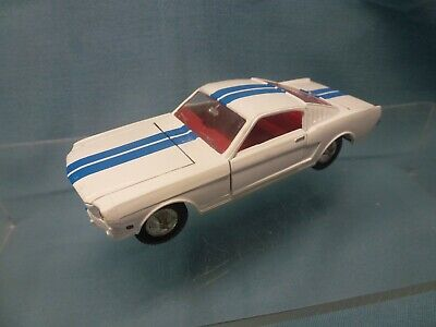 £14.95 • Buy Dinky 161 1/43 Ford Mustang In White With Blue Stripes ~ Unboxed