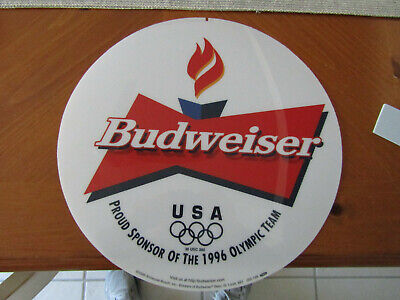 $ CDN16.35 • Buy Budweiser Usa 1996 Olympic 12 1/4'' Neon  Transparency Insert  For Man Cave Sign