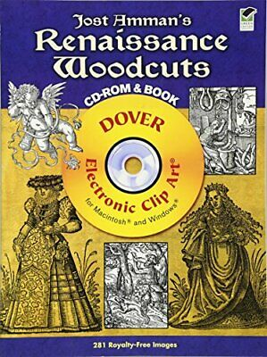 £28.32 • Buy Jost Amman's Renaissance Woodcuts Cd-rom And Book (dover **brand New**