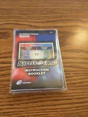 $39.99 • Buy Pokemon Ruby And Sapphire Battle E Series 1 Instruction Booklet - USA RARE!!!!!!