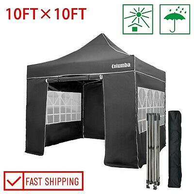 £135.99 • Buy Pop-up Gazebo With Sides Waterproof Outdoor Garden Canopy Marquee Tent 3x3M