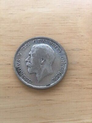£5 • Buy George V Half Crown Dated 1920 Fine Condition