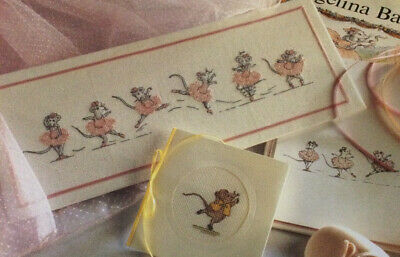 £1.50 • Buy Cross Stitch Chart Only Angelina Ballerina Sequence/Henry + Angelina Alone (444A