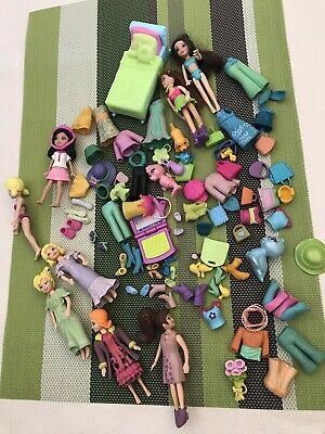 £13 • Buy Polly Pocket Figures Bundle With Clothes And Shoes 90's