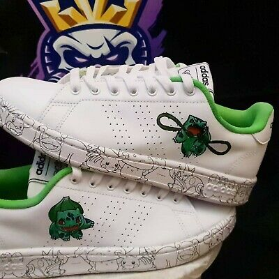 £90 • Buy Official Adidas PokÈmon Trainers Customised To Bulbasaur 1 Of A Kind !