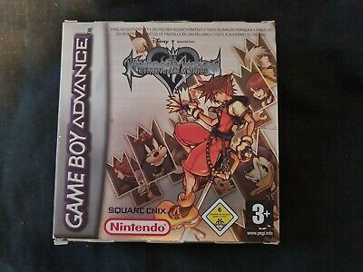£35 • Buy Kingdom Hearts Chain Of Memories Gba - Game Boy Advance - Boxed Includes Manual