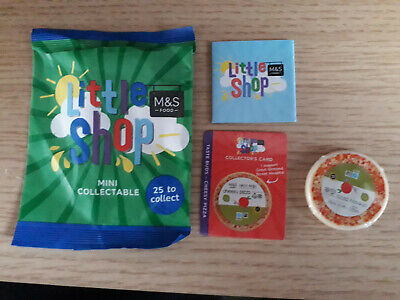£4.99 • Buy M & S Little Shop Pizza Collectable New In Packet.