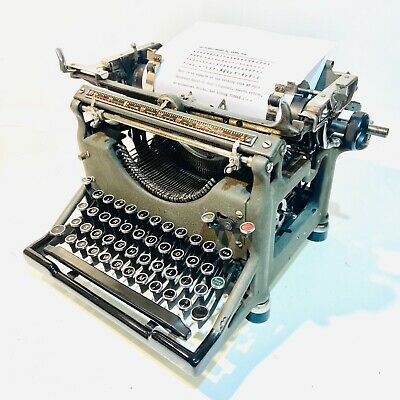 £185 • Buy Underwood Model 5 Typewriter, 1930, Beautiful, Clean And Working With New Ribbon
