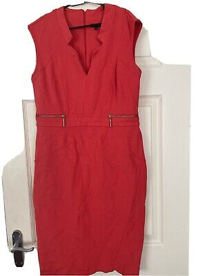 £6.99 • Buy RIVER ISLAND Size 16 CORAL DRESS